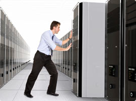 Data Center Migration Made Easy with Temporary Server Technology