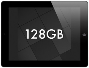 "Apple Debuts ""New"" 128GB iPad"