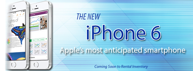 Apple iPhone 6 And iPhone 6 Plus Rentals Coming Soon!