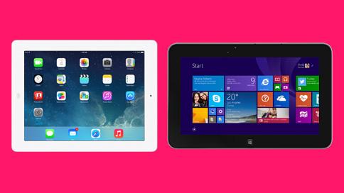 windows vs ios tablet
