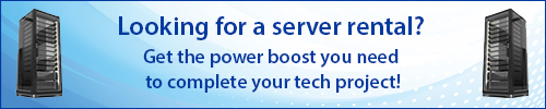 Nationwide Replacement Server and Network Server Rentals from Rentacomputer!