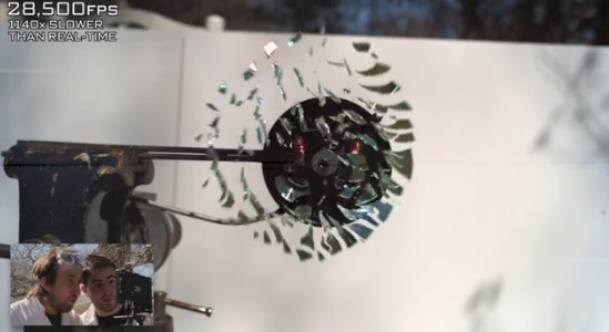 CD Exploding at 170,000 FPS