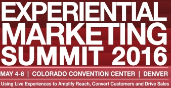 The Experiential Marketing Summit 2016!