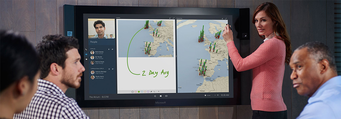 Microsoft's Surface Hub Available To Rent!