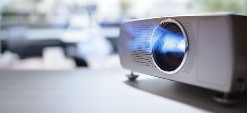 Short Throw Projectors for Tradeshow Booths