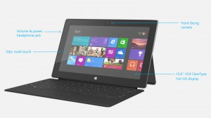 Microsoft Releases Surface With Windows Pro 8