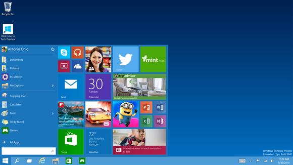 windows10start