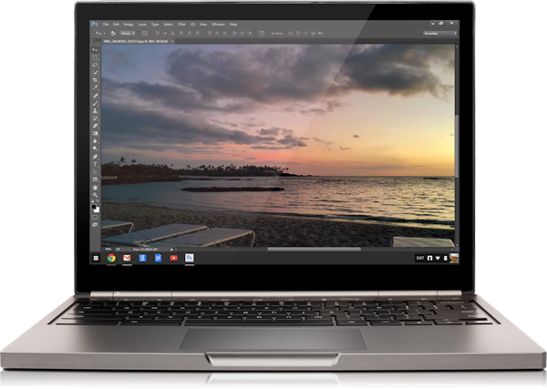 Adobe Photoshop Is Coming To Chromebooks, And It Is All Cloud Based.