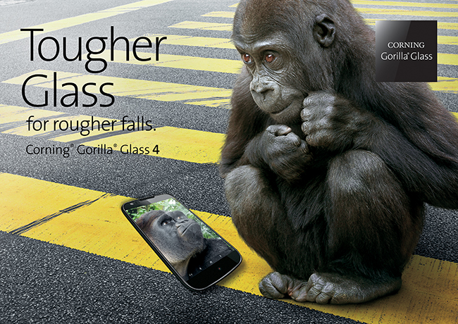 Gorilla Glass 4 Is Coming, And It's Stronger Than Ever