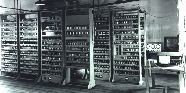 Rebuilding One Of The World's First Computers