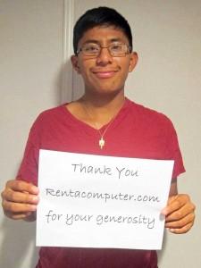 Rentacomputer Cares 2015 Scholarship Awarded to Matthew Goodman