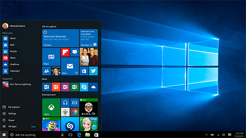Printable Windows 10 Cheat Sheet Released By Microsoft