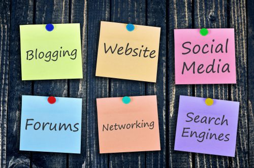 Engage using social media and online forums
