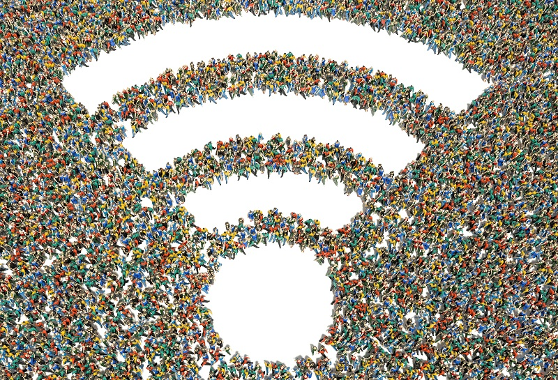 WiFi for large crowds