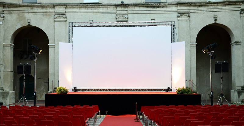 On the Big Screen: Event Rental Equipment to Make Your Film Festival a Success