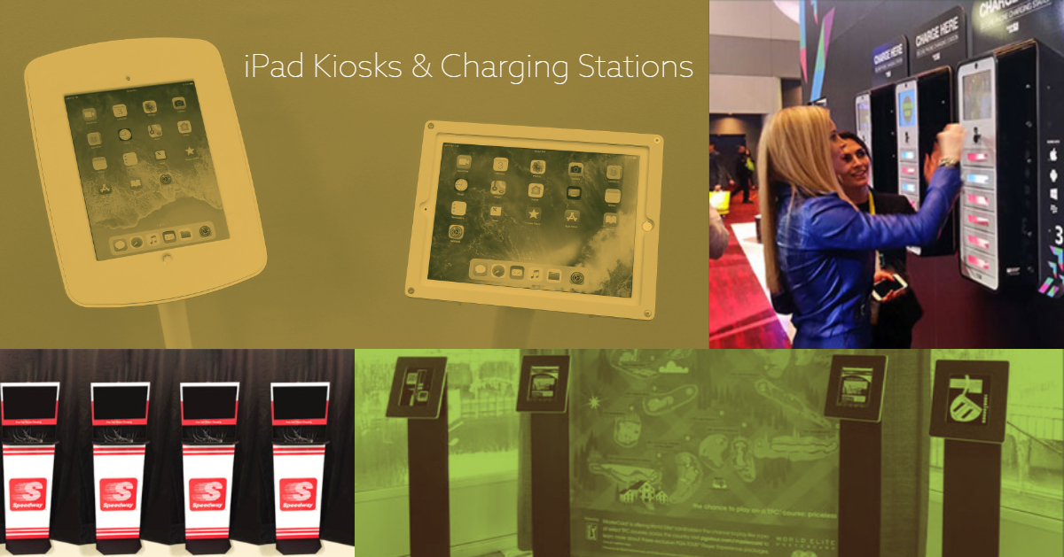 iPad kiosks and charging station rentals