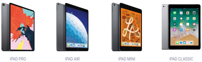 IPAD RENTALS WE OFFER