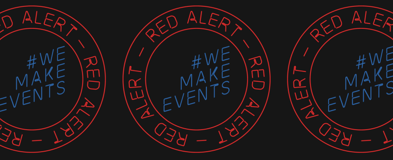 #RedAlertRESTART - support the events industry