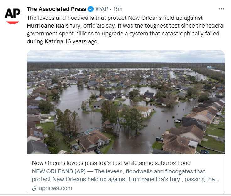 The Associated Press tweet